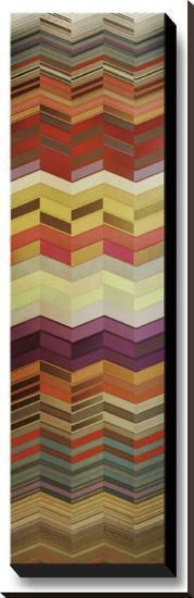 Herringbone I--Stretched Canvas Print