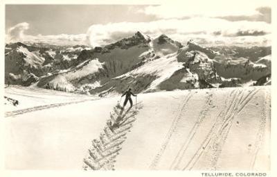 Herringbone Ski Track, Telluride, Colorado