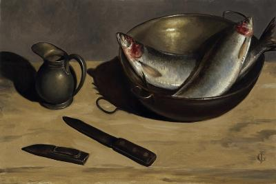Herrings, Knife and Jug-James Gillick-Giclee Print