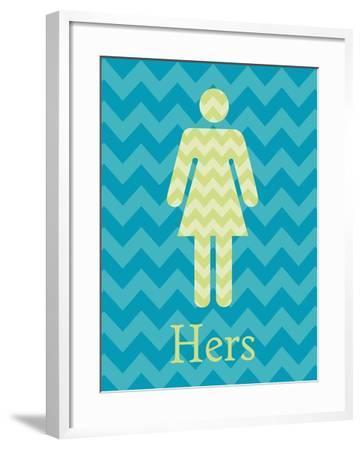 Hers-N. Harbick-Framed Premium Giclee Print