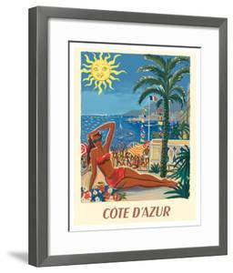 Cote d'Azur - France - The French Riveria by Hervé Baille