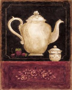 Time for Tea and Berries I by Herve Libaud
