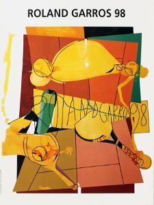 Roland Garros, 1998 by Herve Télémaque