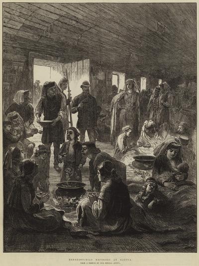 Herzegovinian Refugees at Ragusa--Giclee Print