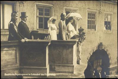Herzog Carl Eduard, Friedenstein, Balkon, Regenten--Giclee Print
