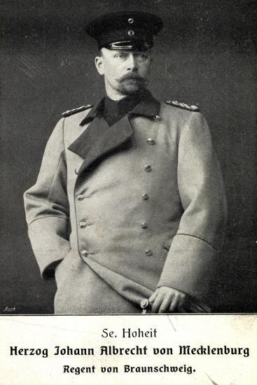 Herzog Johann Albrecht V Mecklenburg, Braunschweig--Giclee Print