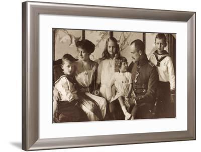 Herzogliche Familie Sachsen Coburg Gotha, Poträt--Framed Giclee Print