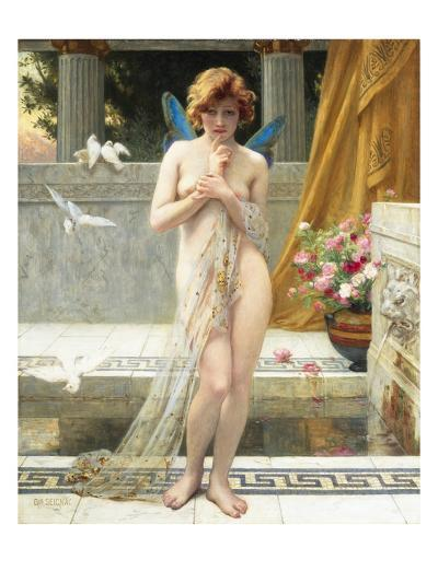 Hesitation of Psyche-Guillaume Seignac-Giclee Print