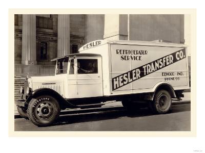 Hesler Transfer Co.--Art Print