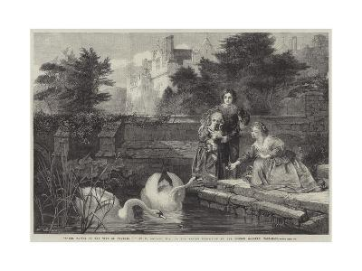 Hever Castle in the Time of Charles I-Frederick Goodall-Giclee Print
