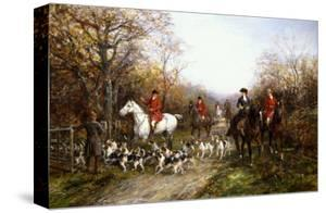 Going Through the Copse by Heywood Hardy