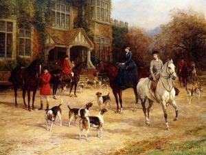 The Meet by Heywood Hardy