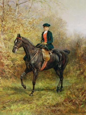 The Morning Ride, 1891 by Heywood Hardy