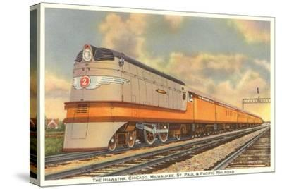 Hiawatha Train Engine