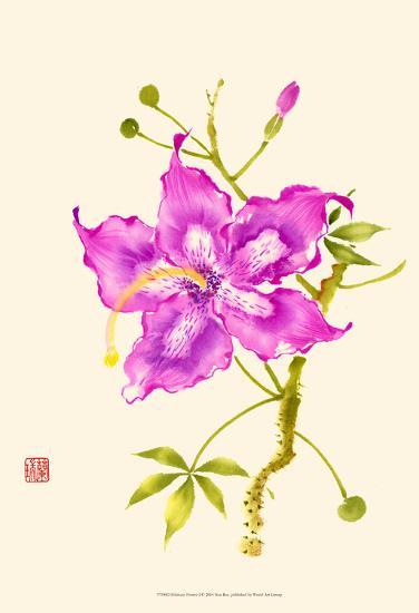 Hibiscus Flower I-Nan Rae-Art Print