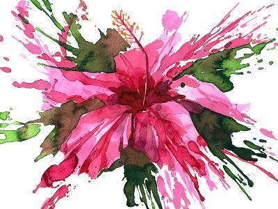 Hibiscus Flower-okalinichenko-Art Print