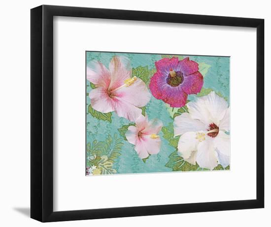 Hibiscus Flowers-Jeffrey Cadwallader-Framed Art Print