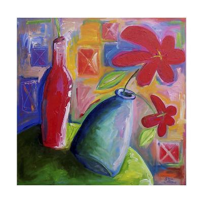 Hibiscus Morning-Sara Catena-Giclee Print