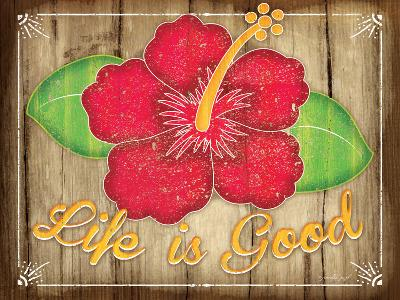 Hibiscus-Jennifer Pugh-Art Print