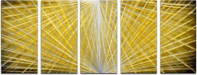 Hidden Depths - 5 Panel Set--Hand Painted Art