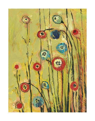 Hidden Poppies-Jennifer Lommers-Art Print