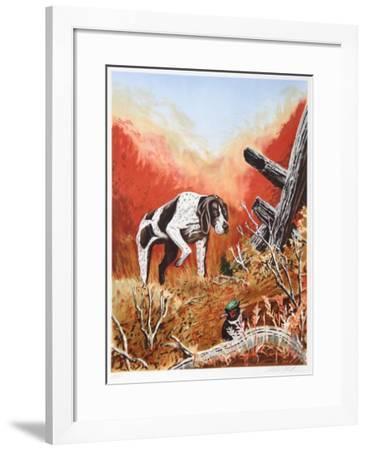 Hide and Seek aka Young Britt-Allen Friedman-Framed Limited Edition