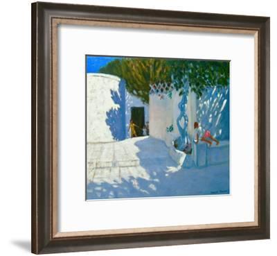 Hide and Seek, Mykonos, 2012-Andrew Macara-Framed Giclee Print