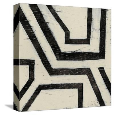 Hieroglyph III-June Erica Vess-Stretched Canvas Print