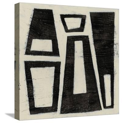 Hieroglyph IV-June Erica Vess-Stretched Canvas Print