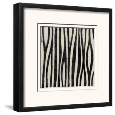Hieroglyph XI-June Erica Vess-Framed Art Print