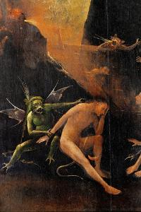 Blessed and the Damned Souls, Hell by Hieronymus Bosch