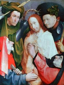 Christ Mocked (The Crowning with Thorn), C1490-1500 by Hieronymus Bosch