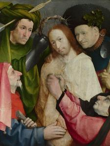 Christ Mocked (The Crowning with Thorns) C.1490-1500 by Hieronymus Bosch