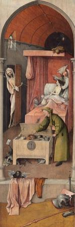 Death and the Miser, Ca 1485