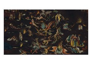 Fragment of a Depiction of the Last Judgement by Hieronymus Bosch