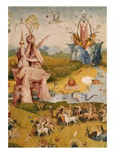 Garden of Earthly Delights, Detail No.3 by Hieronymus Bosch