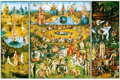 Hieronymus Bosch Garden of Earthly Delights Poster by