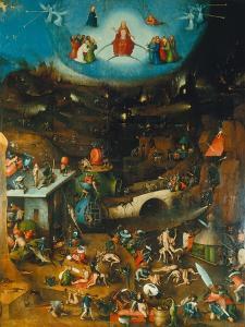 Last Judgement -Triptych. Centre Panel by Hieronymus Bosch