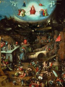 Last Judgment, Central Panel of Triptych by Hieronymus Bosch