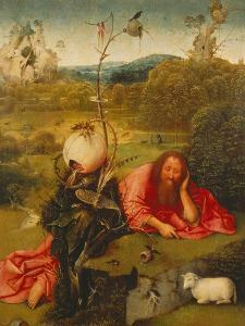 St. John the Baptist in the Desert by Hieronymus Bosch