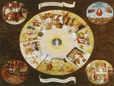 Table-Top with the Seven Deadly Sins