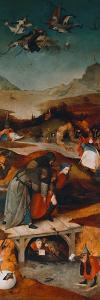 Temptation of St. Anthony (Left Hand Panel) by Hieronymus Bosch