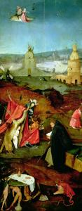 Temptation of St. Anthony (Right Hand Panel) by Hieronymus Bosch