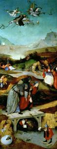 Temptation of St. Anthony by Hieronymus Bosch