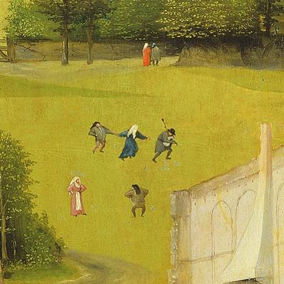 The Adoration of the Magi, Detail of Background Figures, 1510 (Detail of 3427)