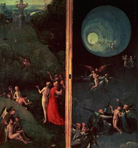 The Ascent into the Empyrean or Highest Heaven by Hieronymus Bosch