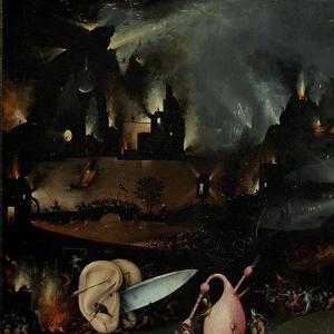 The Garden of Earthly Delights, 1490-1500 by Hieronymus Bosch
