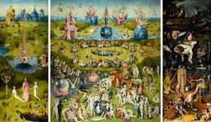 The Garden Of Earthly Delights 1490 1510 Hieronymus Bosch
