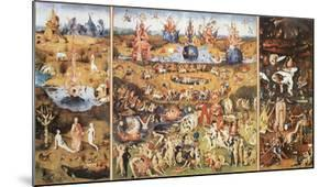 The Garden of Earthly Delights, 1504 by Hieronymus Bosch