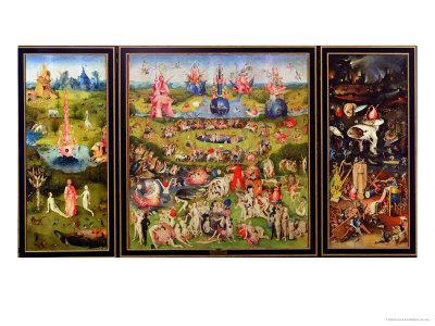 The Garden of Earthly Delights, circa 1500